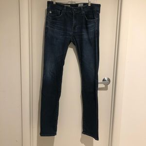 AG Adriano Goldschmied Slim Straight Jeans